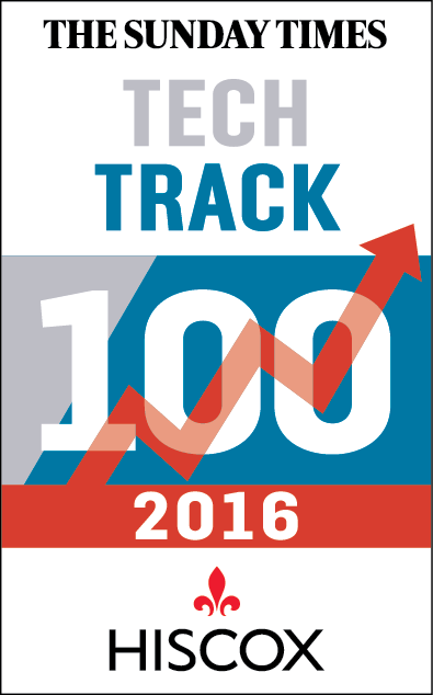 Tech Track 10 2016 Hiscox logo - The Sunday Times