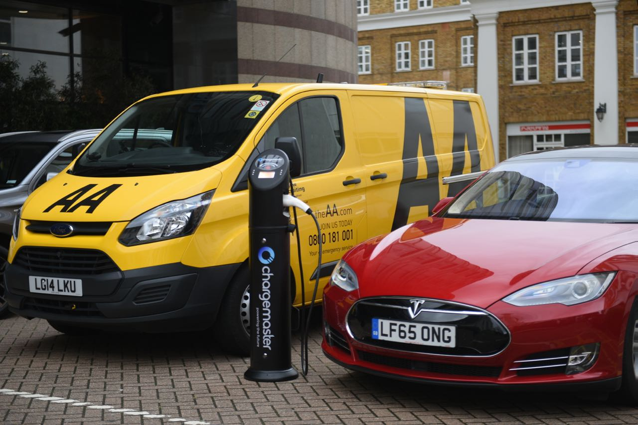 Chargemaster partnership provides benefits for EV-driving AA members