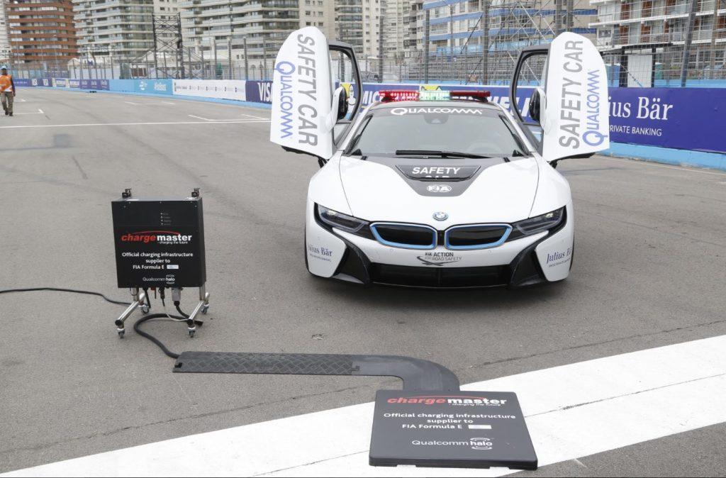 Formula E electric car charging deal
