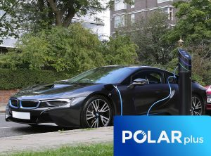 Polar plus for efficient and easy EV electric vehicle charging