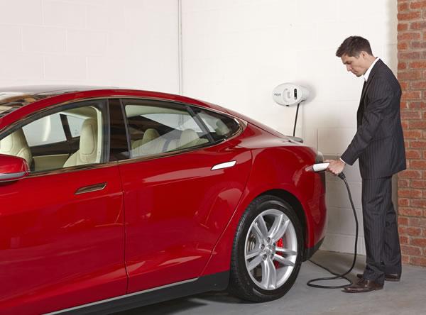Tesla electric cars - BP Chargemaster