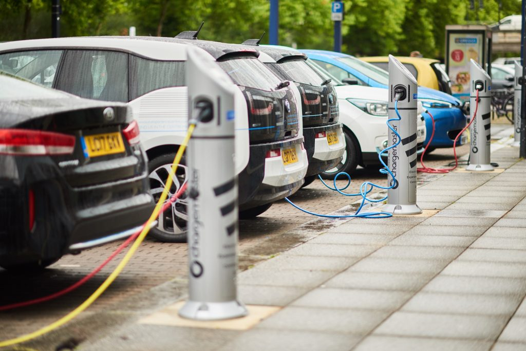 EV charging infrastructure to keep pace with electric car parc