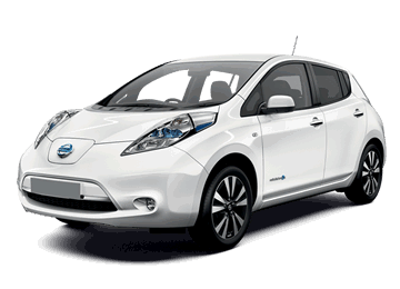 Nissan Leaf Electric car EV
