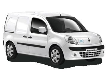 Renault Kangoo electric vehicle van EV