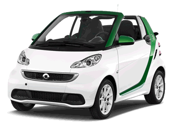 Smart for Two Electric car EV