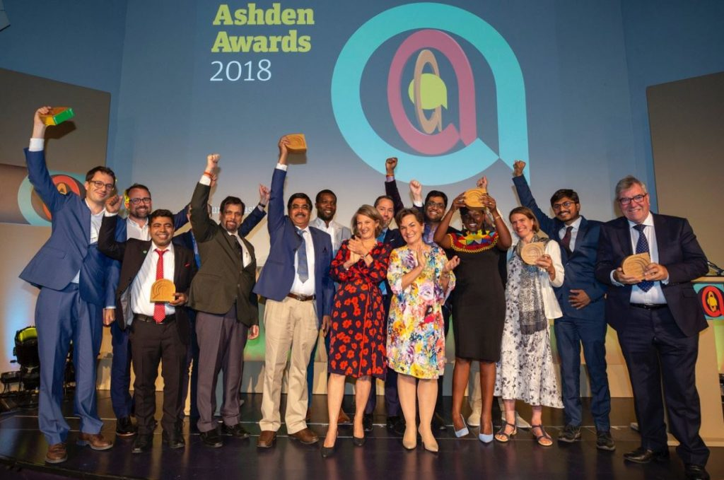 Chargemaster wins Ashden Award for Clean Air in Towns and Cities