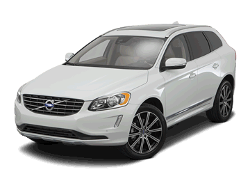 Volvo XC60 white Electric car EV