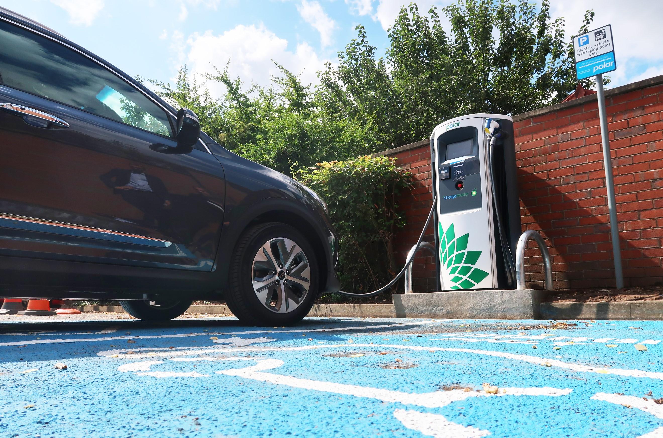 Bp Chargemaster Electric Vehicle Charging