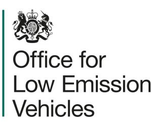 Office for Low Emission Vehicles logo