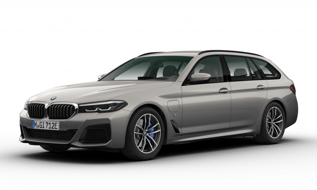 BMW 530e xDrive Touring M Sport Bernina Grey